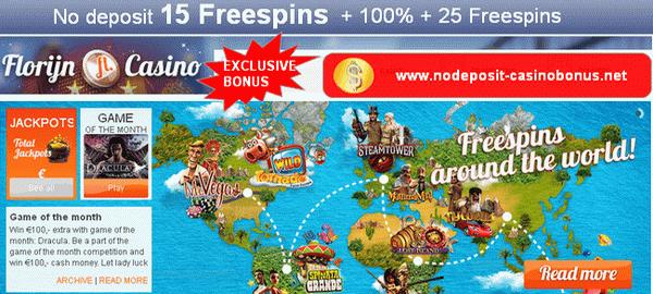 nodeposit-casino-bonus-florijn